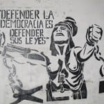 defendiendo democracia