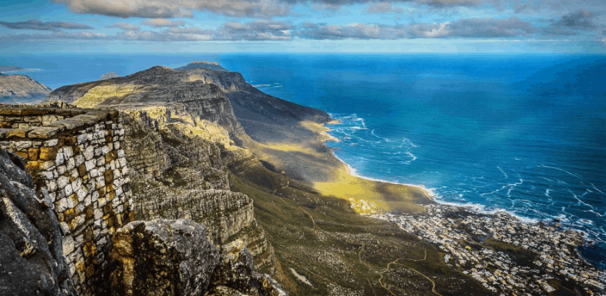 table mountain de sudafrica