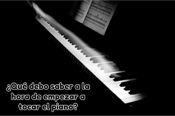consejos para tocar el piano